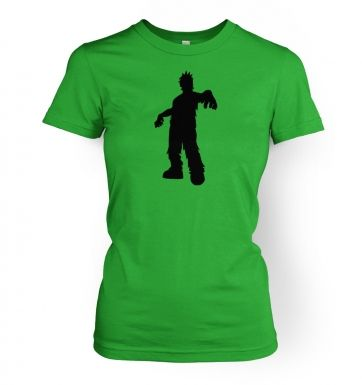 Zombie Silhouette   womens t-shirt