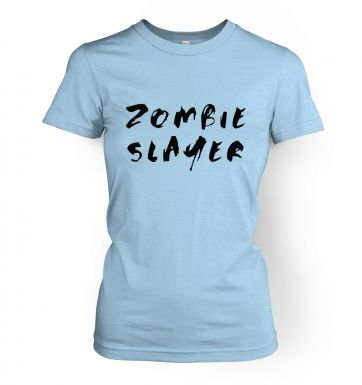 Zombie Slayer   womens t-shirt