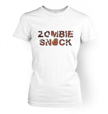 Zombie Snack  womens t-shirt