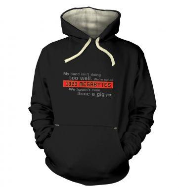 1023 Megabytes hoodie (premium)