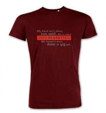 1023 Megabytes premium t-shirt