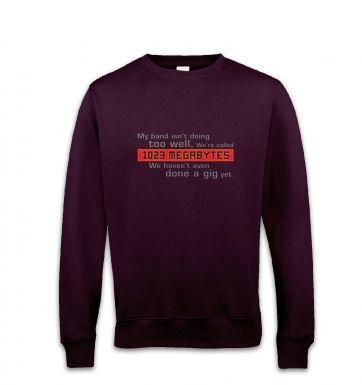 1023 Megabytes sweatshirt