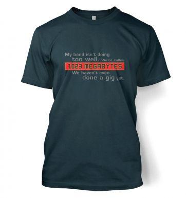 1023 Megabytes t-shirt