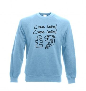 �1 Fish   sweatshirt