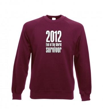 2012 End of The World Survivor sweatshirt