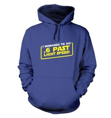 .6 Past Light Speed hoodie