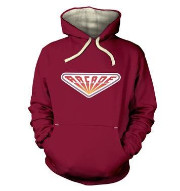 80s Arcade Sign premium hoodie