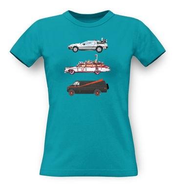 80s Pixel Cars classic women's t-shirt