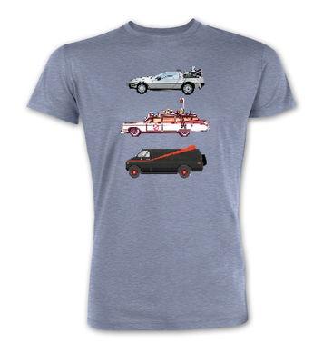 80s Pixel Cars premium t-shirt