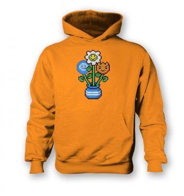 8-Bit Bouquet kids' hoodie
