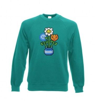 8-Bit Bouquet sweatshirt