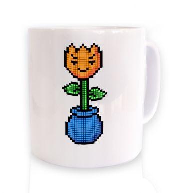 8-Bit Tulip mug