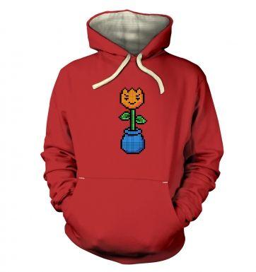 8-Bit Tulip hoodie (premium)