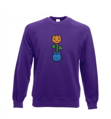 8-Bit Tulip sweatshirt