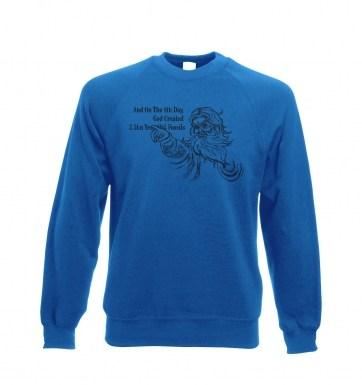 8th Day Creation sweatshirt