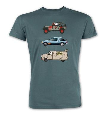 90s Pixel Cars premium t-shirt