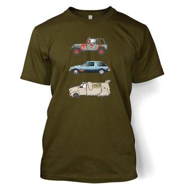 90s Pixel Cars t-shirt