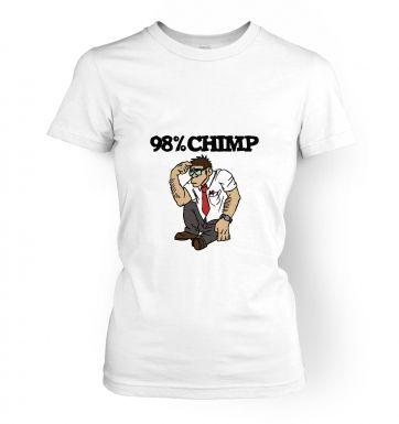 98% Chimp women's t-shirt