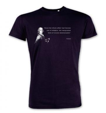Affair Of Religion Voltaire premium t-shirt