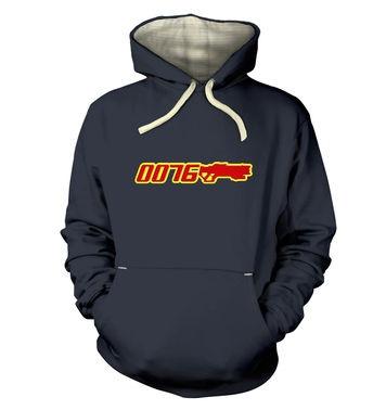 Agent 0076 premium hoodie