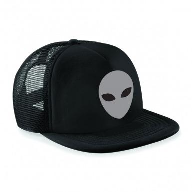 Grey Alien Head baseball cap