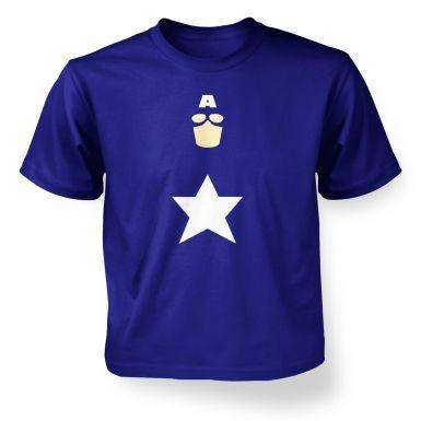 All American Hero kids' t-shirt