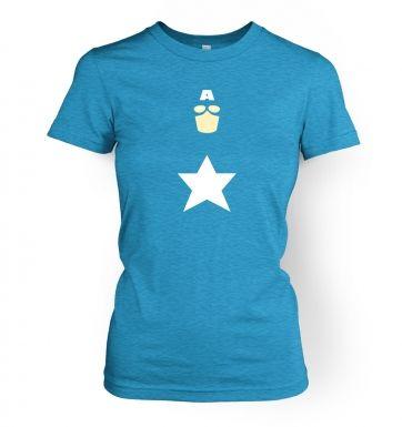All American Hero women's t-shirt