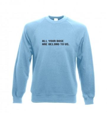 All your base sweatshirt