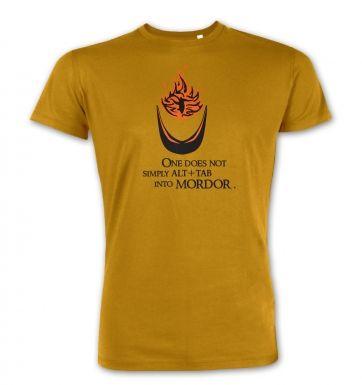 Alt+tab into Mordor premium t-shirt