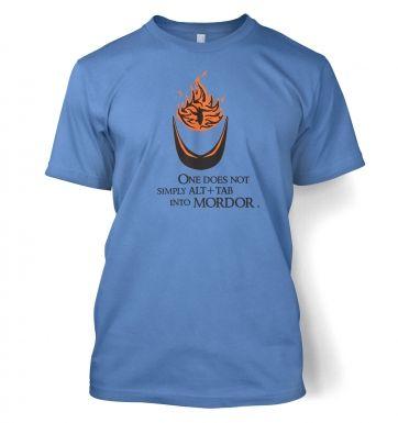 Alt+tab into Mordor t-shirt