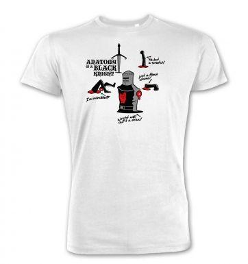 Anatomy of a Black Knight  premium t-shirt