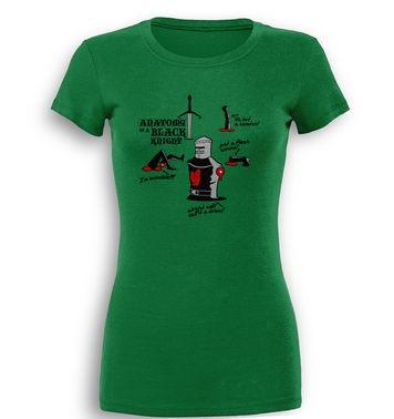 Anatomy Of A Black Knight premium women's t-shirt