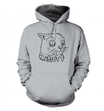 Anxiety Cat hoodie