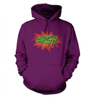 Argh  college hoodie