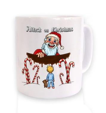 Attack On Christmas mug