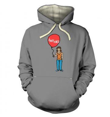 Awkward Balloon Girl hoodie (premium)