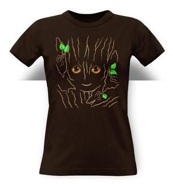 Baby Tree Costume classic women's t-shirt