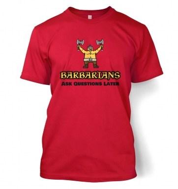 Barbarian Class t-shirt