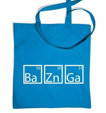 BaZnGa tote bag