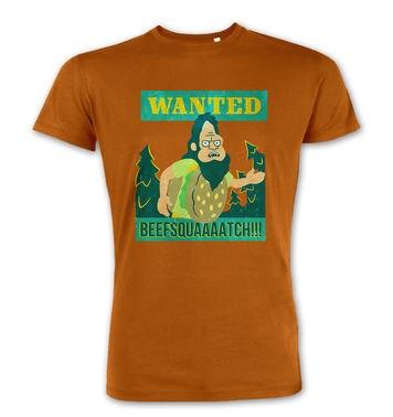 Beefsquatch Poster premium t-shirt