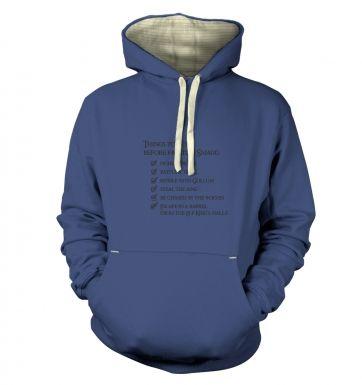 Before Smaug todo list  hoodie (premium)