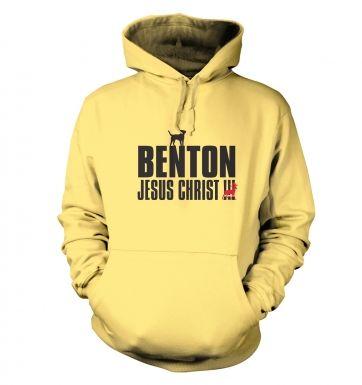 Benton Dog Chasing Deer hoodie