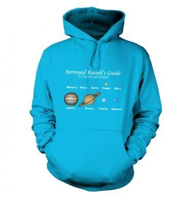 Bertrand Russell's Guide hoodie