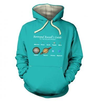 Bertrand Russell's Guide hoodie (premium)