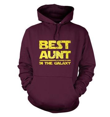 Best Aunt In The Galaxy hoodie