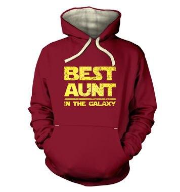 Best Aunt In The Galaxy premium hoodie