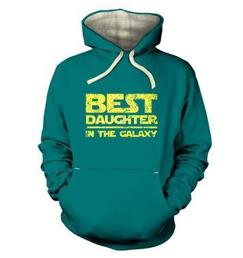 Best Daughter In The Galaxy premium hoodie