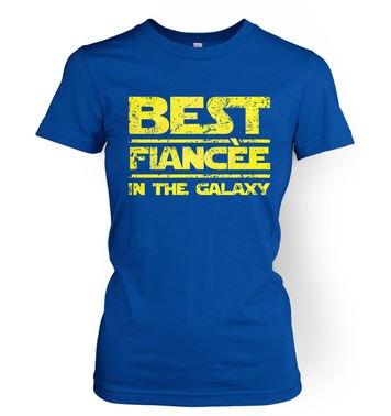 Best Fiancee In The Galaxy women's t-shirt