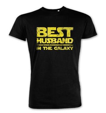 Best Husband In The Galaxy  premium t-shirt