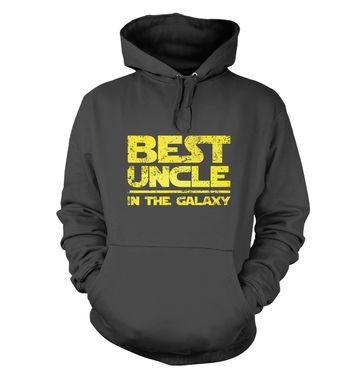 Best Uncle In The Galaxy hoodie
